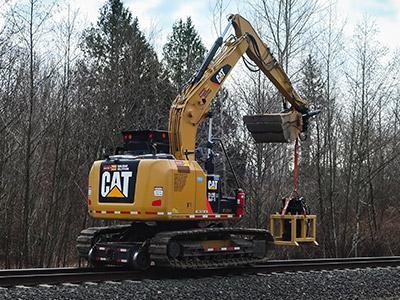 310 Hi-Rail Excavator
