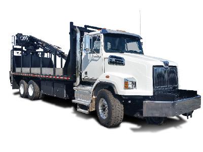 Hi-Rail Grapple Truck
