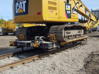 Rail Carts and Trailers
