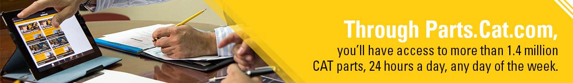order cat construction equipment parts online