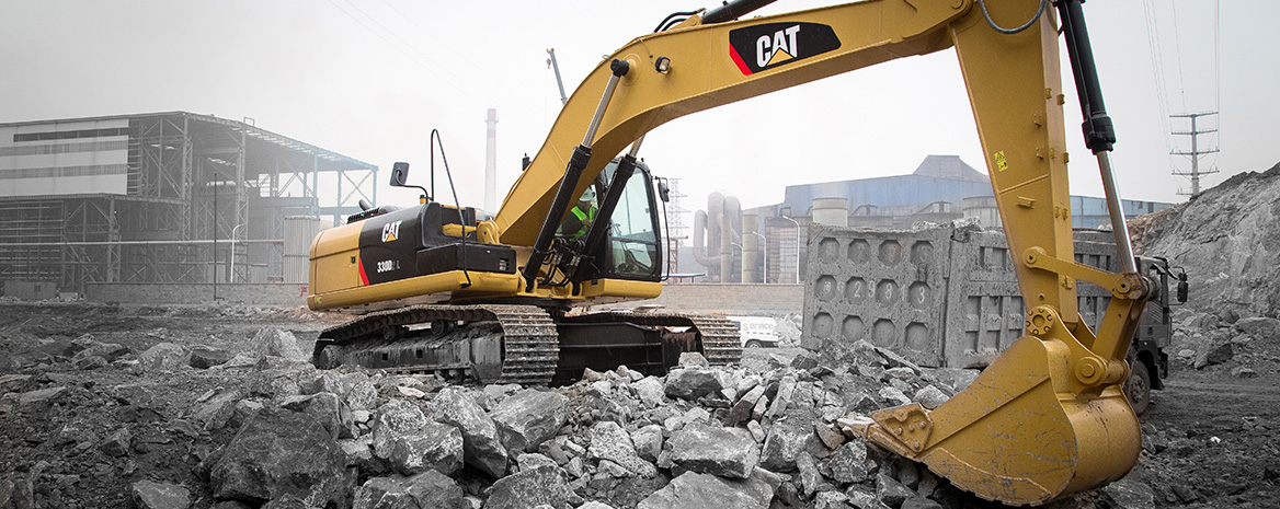 Demolition and Scrap Equipment at Western States Cat