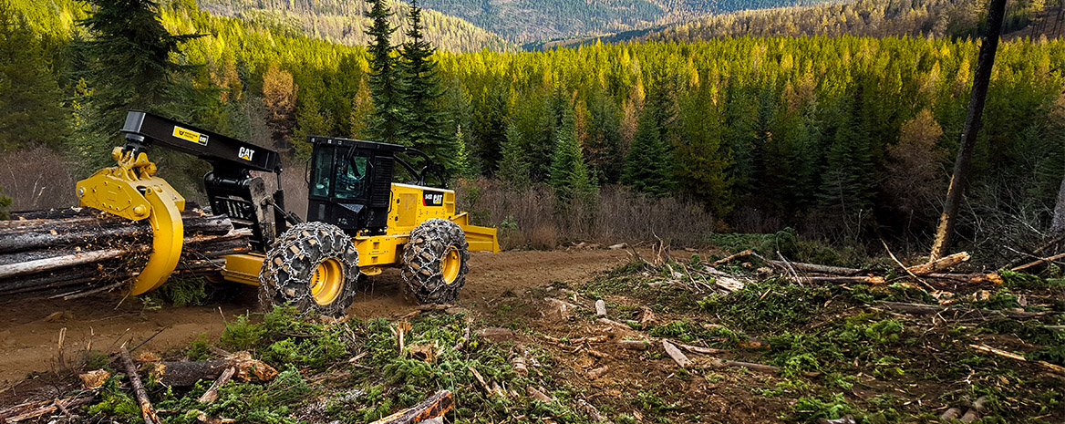 Heavy Forestry Equipment