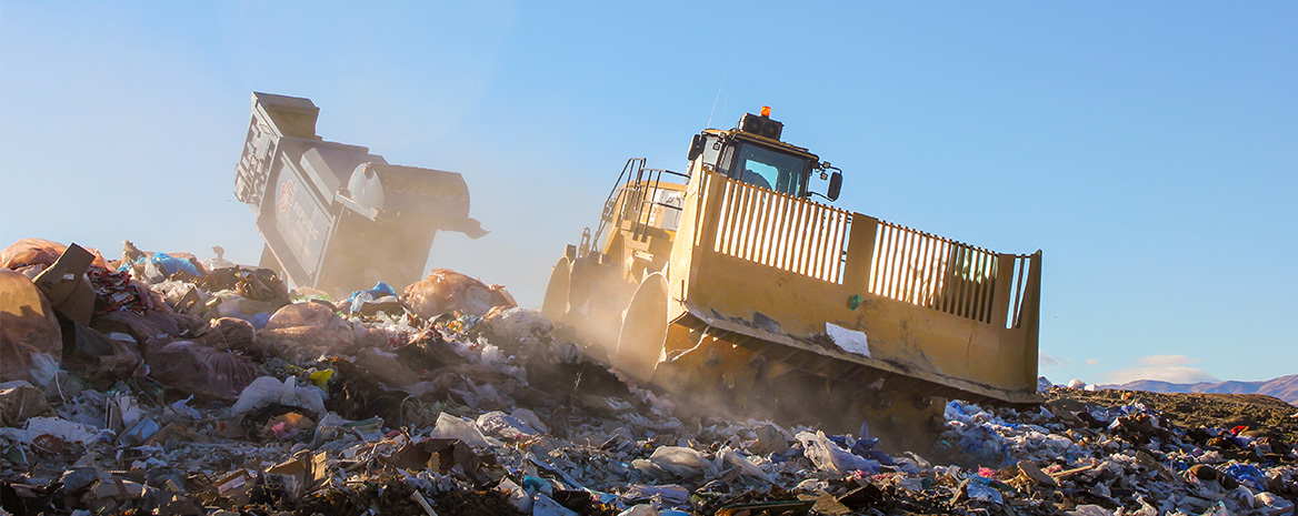 Heavy equipment for Waste Management