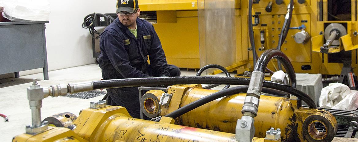 Western State Cat custom hydraulic service