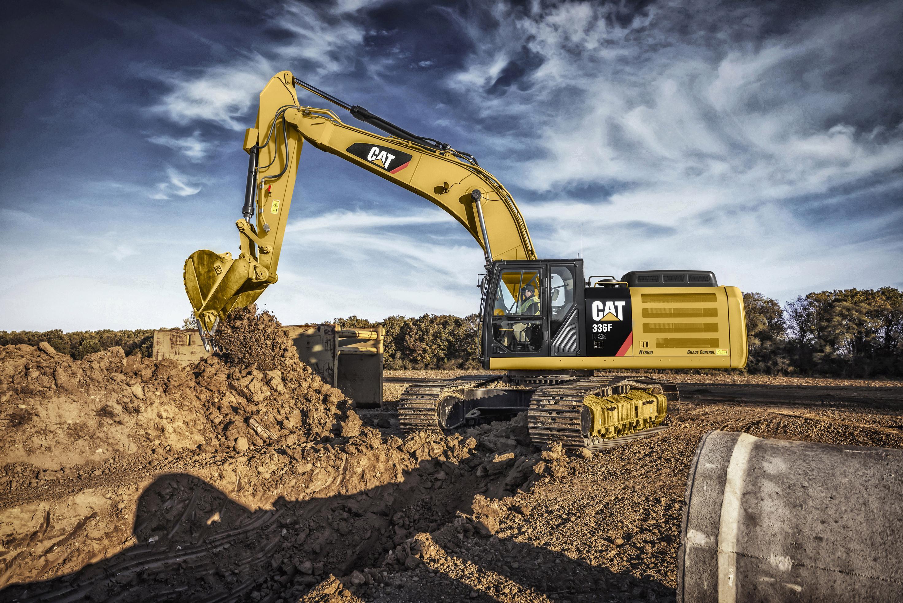 Western state cat excavator rentals for Builder contractors