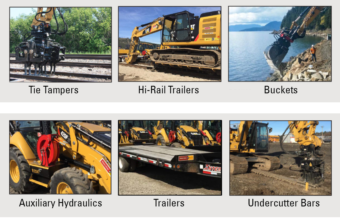Railroad solutions Attachments