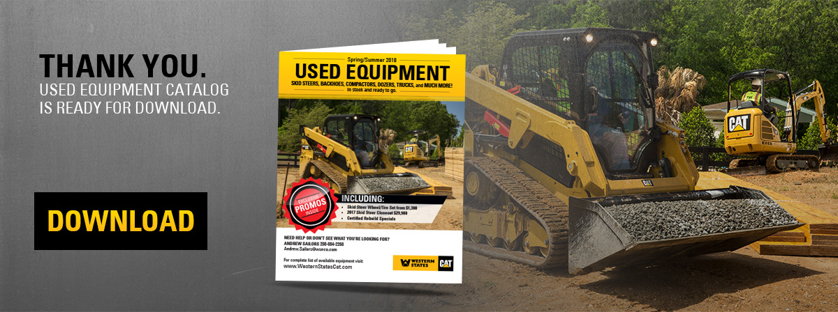 Used equipment flyer | Western States Cat